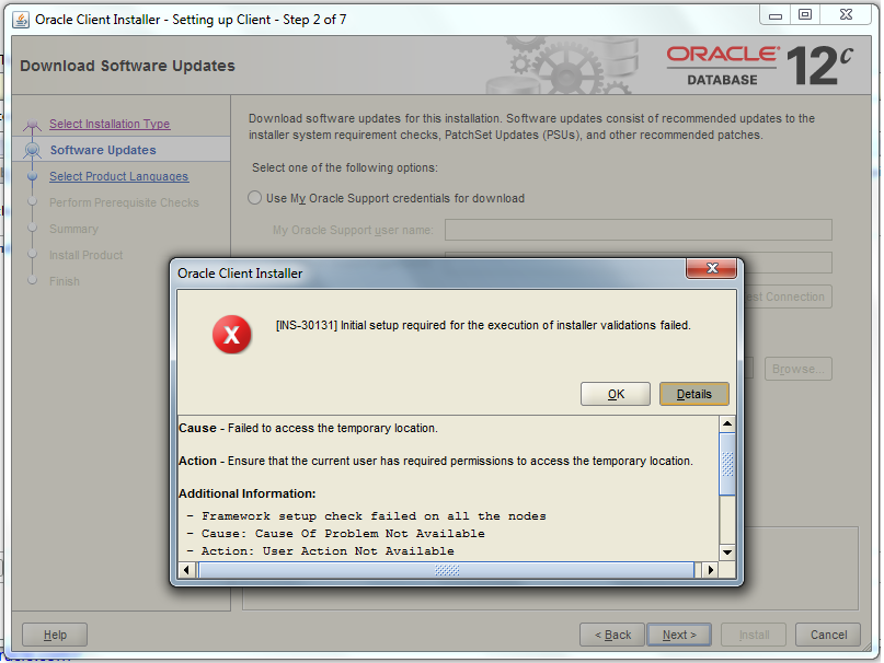 How to Install Oracle 32 bit Client on Windows 64 bit and avoid the