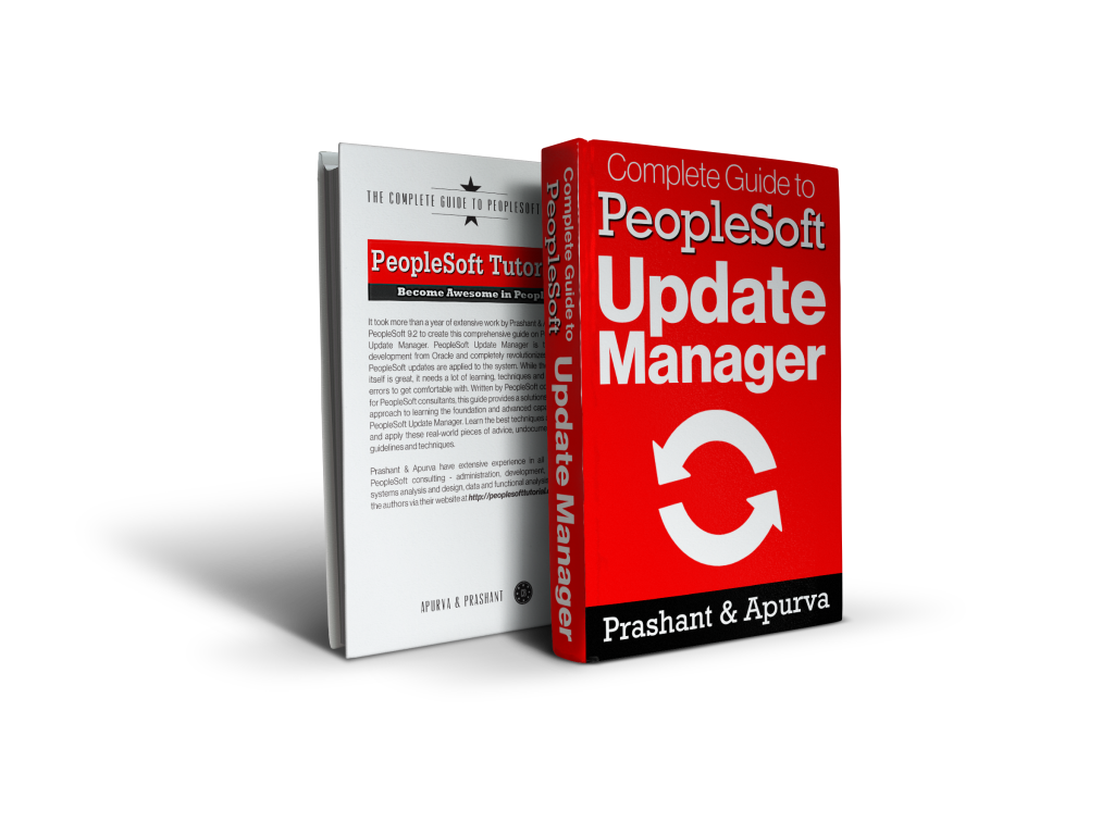 complete guide to peoplesoft update manager