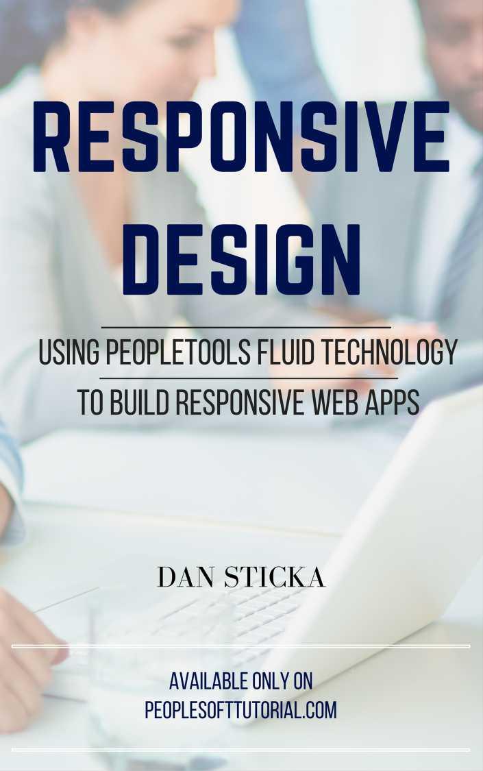 PeopleSoft Responsive Design