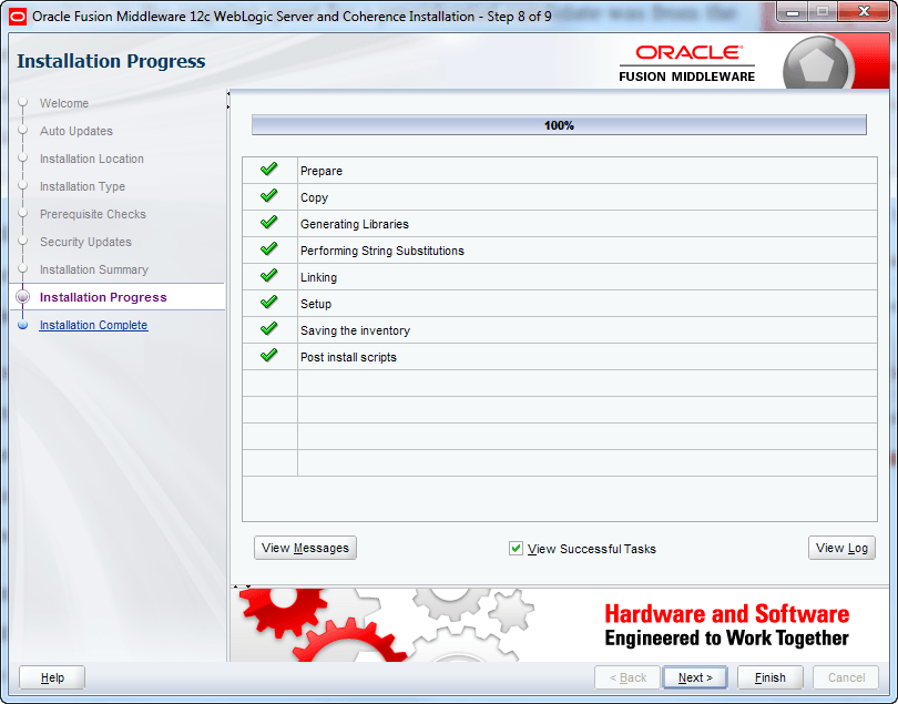 oracle weblogic installation review