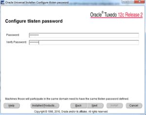 tslisten password
