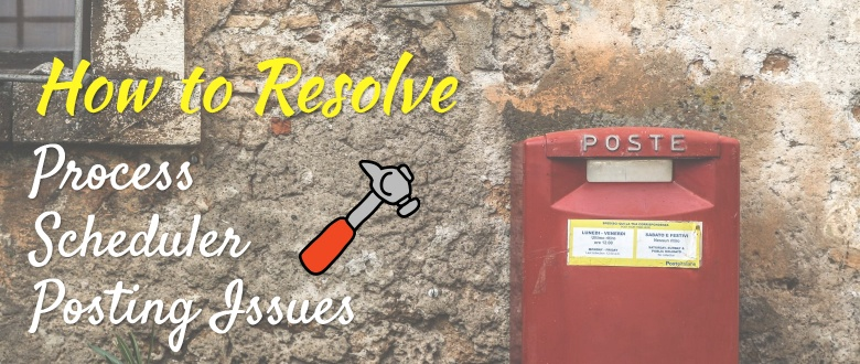 How to Resolve PeopleSoft Process Scheduler Posting Issues