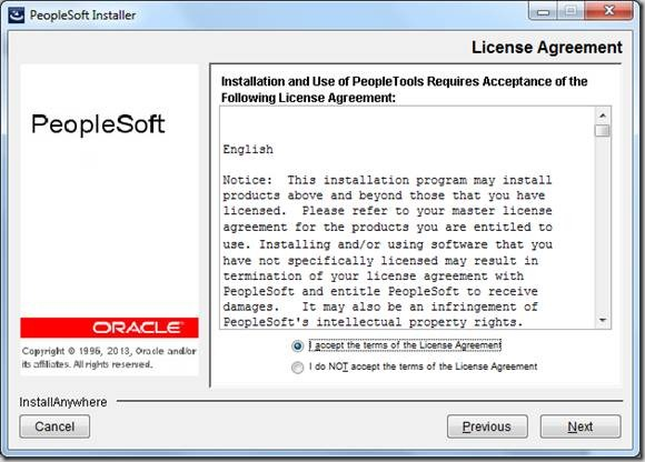 PeopleTools 8 53: Install PeopleTools 8 53 on Windows 7 | PeopleSoft