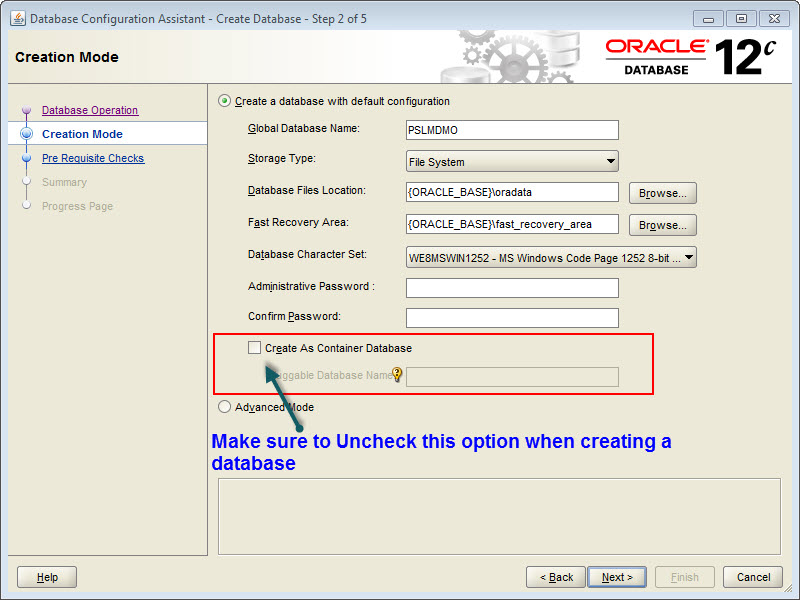 Oracle CDB