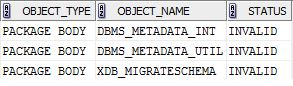 (SQR 3725) Bad return fetching row from database.