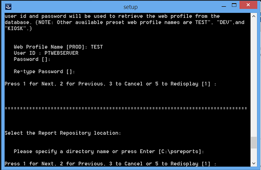 install peopesoft pia in console mode 10