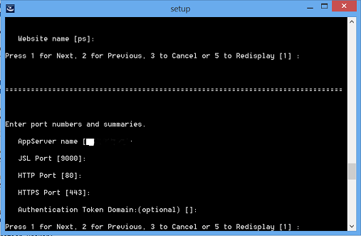 install peopesoft pia in console mode 9