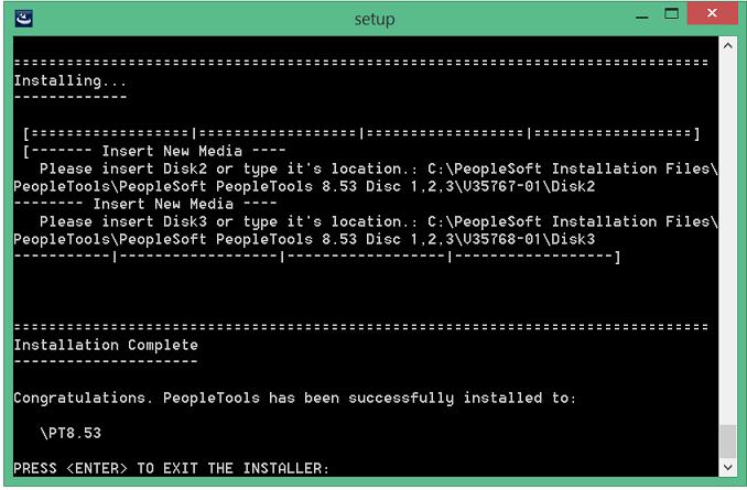 install peopletools 8.53 in windows 8 - 11