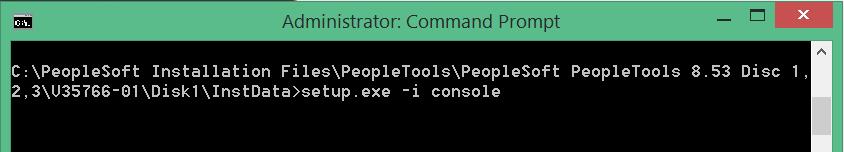 install peopletools 8.53 in windows 8