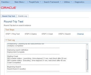 PeopleSoft SES Round Trip Test 4