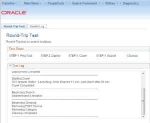 PeopleSoft SES Round Trip Test 8