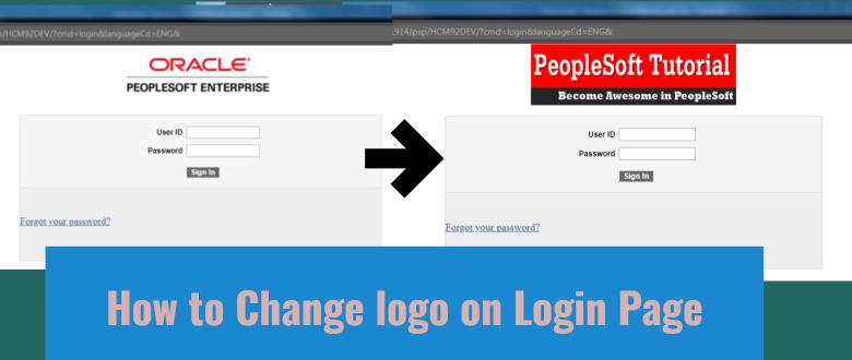 peoplesoft oracle login change clipground