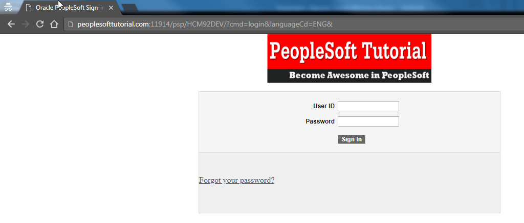 how to change logo on peoplesoft login screen peoplesoft