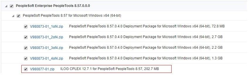 IBM ILOG CPLEX in PeopleSoft – PeopleSoft Tutorial